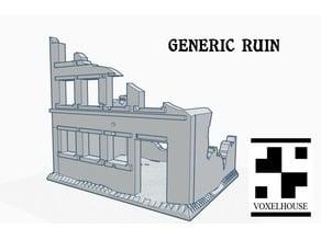 28mm Generic Ruin