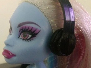 Monster High Doll Headphones