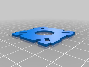 CCD Mount for 250 miniquad AQ250, ZMR250, Blackout and more
