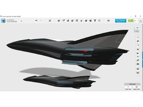 Hypersonic Scramjet Strategic Bomber Drone