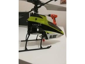 Blade 120 SR Battery holder