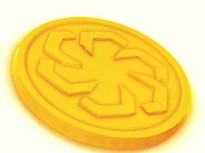 Ornamental Coin - Radial Symmetries