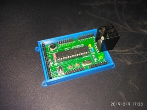 Case for my ATMEGA8 Test Bed