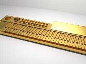 Synthesizer Keyring