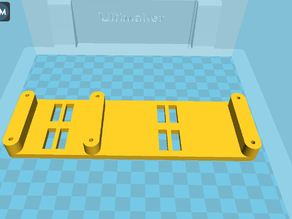 Ultimaker Mount for 2 additional extruders