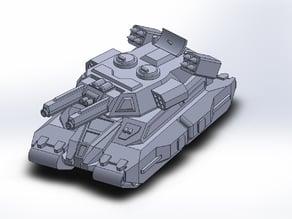 Iron Grenadiers Hobgoblin superheavy tank (GI Joe)