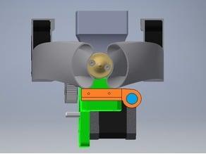 Sensor Holder for Wade's L3K Extruder V2