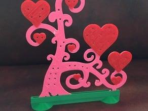 Heart Jewelry Tree Holder