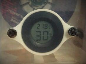 magnetic hygrometer/humidity sensor mount (filament box)