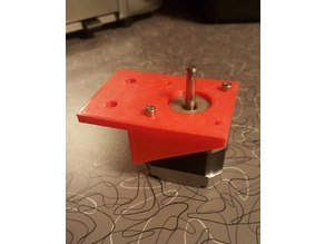 10 series extrusion Y axis motor mount