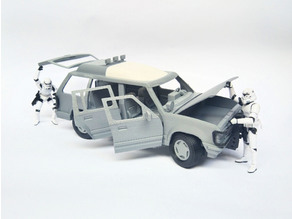 1:18 Dino Car for 3.75 Inch Figure No Support