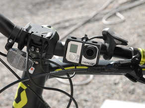 Gopro 3+ Case with Lens Saver and Zip-tie mount