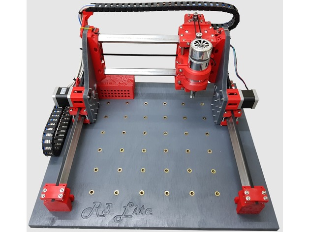 Root 3 Lite CNC multitool router 3D printed parts by