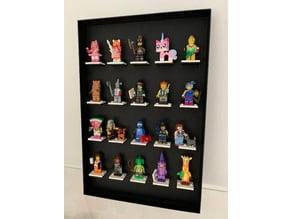 LEGO Minifigure Display Stand (Wall Mount)