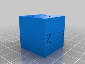 My Customized Parametric test cube