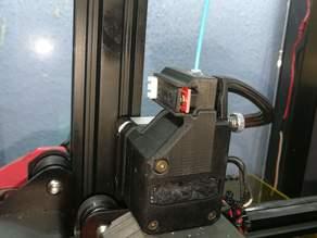 Optical filament sensor for BMG extuder.