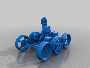 Stepper Robot Six Wheel 2WD