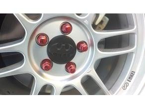 Center Caps for Enkei RPF1 wheels - 73mm