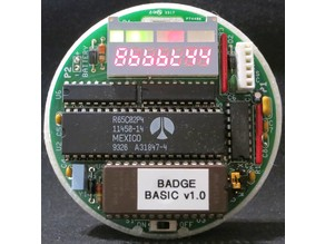 Protective back case for 6502 40th Anniversary Computer Badge