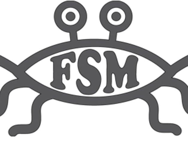 Flying spaghetti monster symbol - photo#4