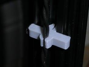 Openbeam wire clips