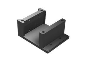Folgertech FT-6 SOLID Bowden (+dual) extruder mount REMIX