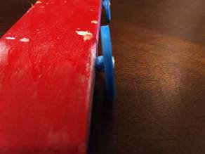 Pinewood Derby Wheel (f360 attached)