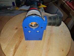 Bosch GKF12v Staubabsaugung