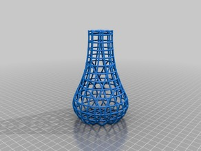 Cage Structure Vase