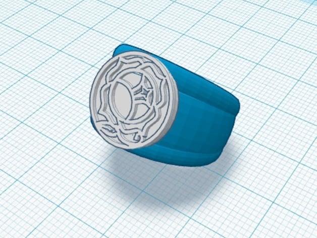 Utena Rose Seal Ring