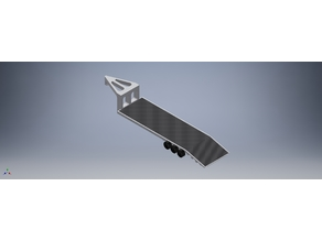 1:10 scale RC goose neck trailer