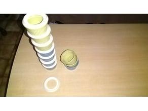 Empileur de pot a dessert (ramequin)/ramekin stacker