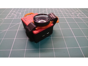 SJ5000X Camera Ring for velcro belt with defend glass.