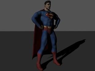 ready to print SUPERMAN