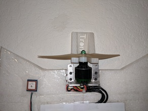 Wing wall mount