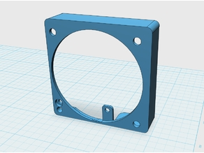 Anet A8 Plus 60mm Extruder Fan Mount