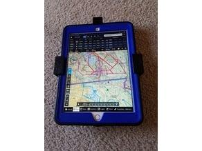 "Pilot kneeboard 9.7"" IPAD + hardcover case"