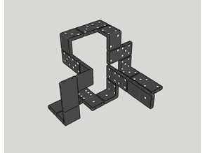 3D domino for in space