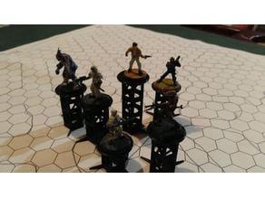 Modular RPG Miniatures Riser