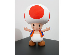 Toad from Mario games - Multi-color