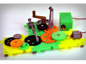 Crazy Cogs - Gear Play Set