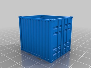HO Scale China Railway TBJ10 Container