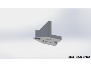 Hypercube Evolution 15mm Bed Bracket with extended long whole