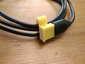 USB  Cable Cap  Clip