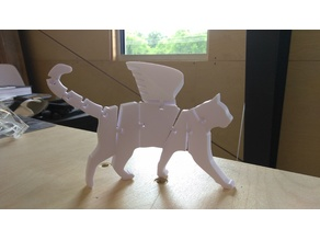 Flexi Winged Cat Tressym