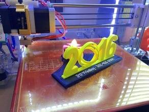2016 Gimbal Stand with Tea Lamp