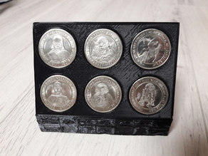 Coin stand 3x2