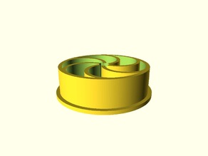 Pen mount for CNC router (52mm spindle)
