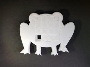 4x4 Frog sliding puzzle