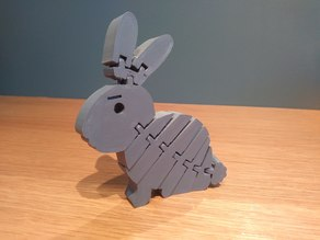 Flexi Rabbit with strong links